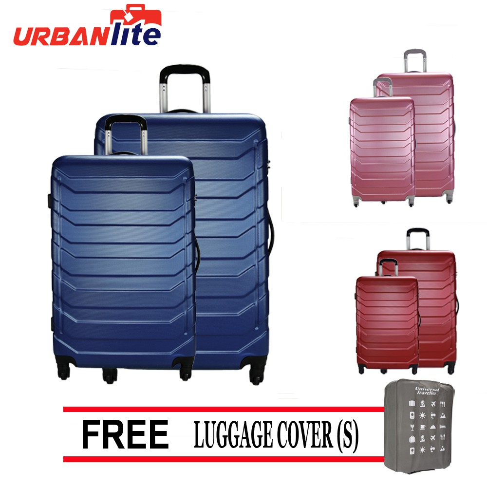 2 in 1 Set Modern Design with Solid Steel Corner Protector Brand New Luggage | Shopee Malaysia