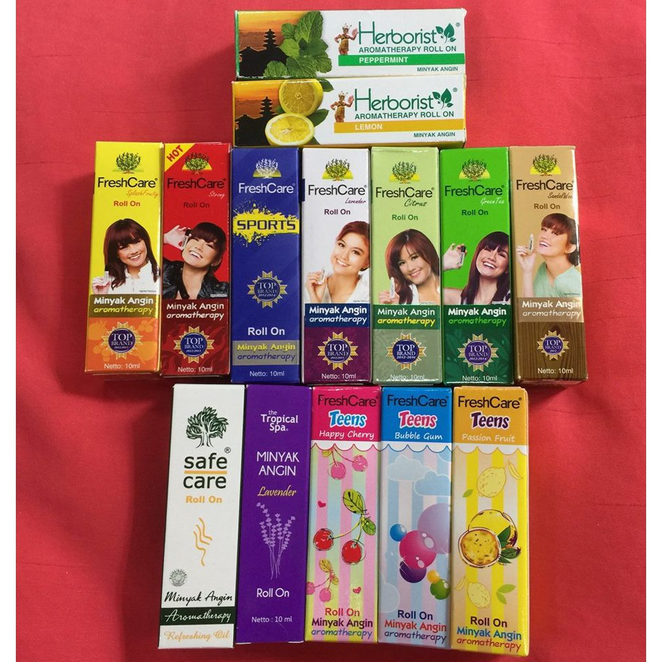 Freshcare Minyak Angin Aromatherapy Shopee Malaysia Roll On Hot 10 Ml 4 Botol