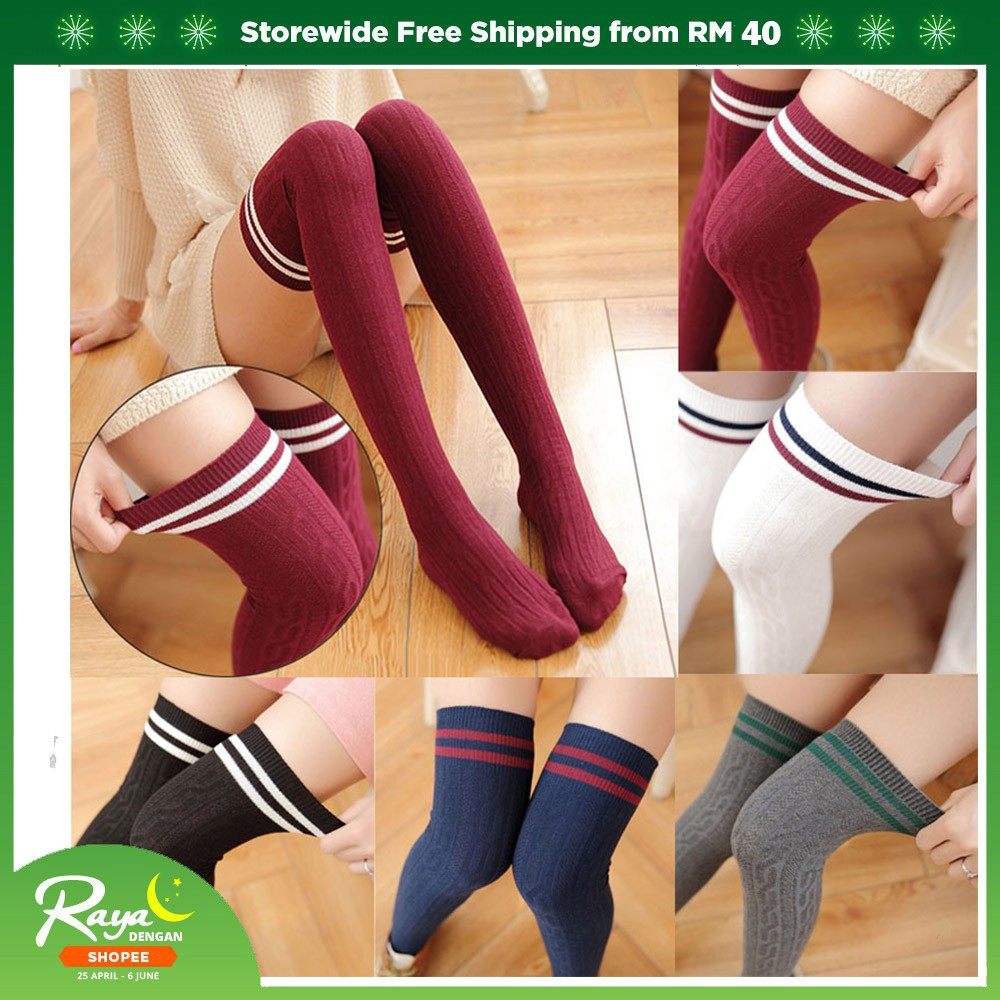 b936d317cf9 Hot New Sexy Womens Silicone Band Thigh High Stockings | Shopee Malaysia
