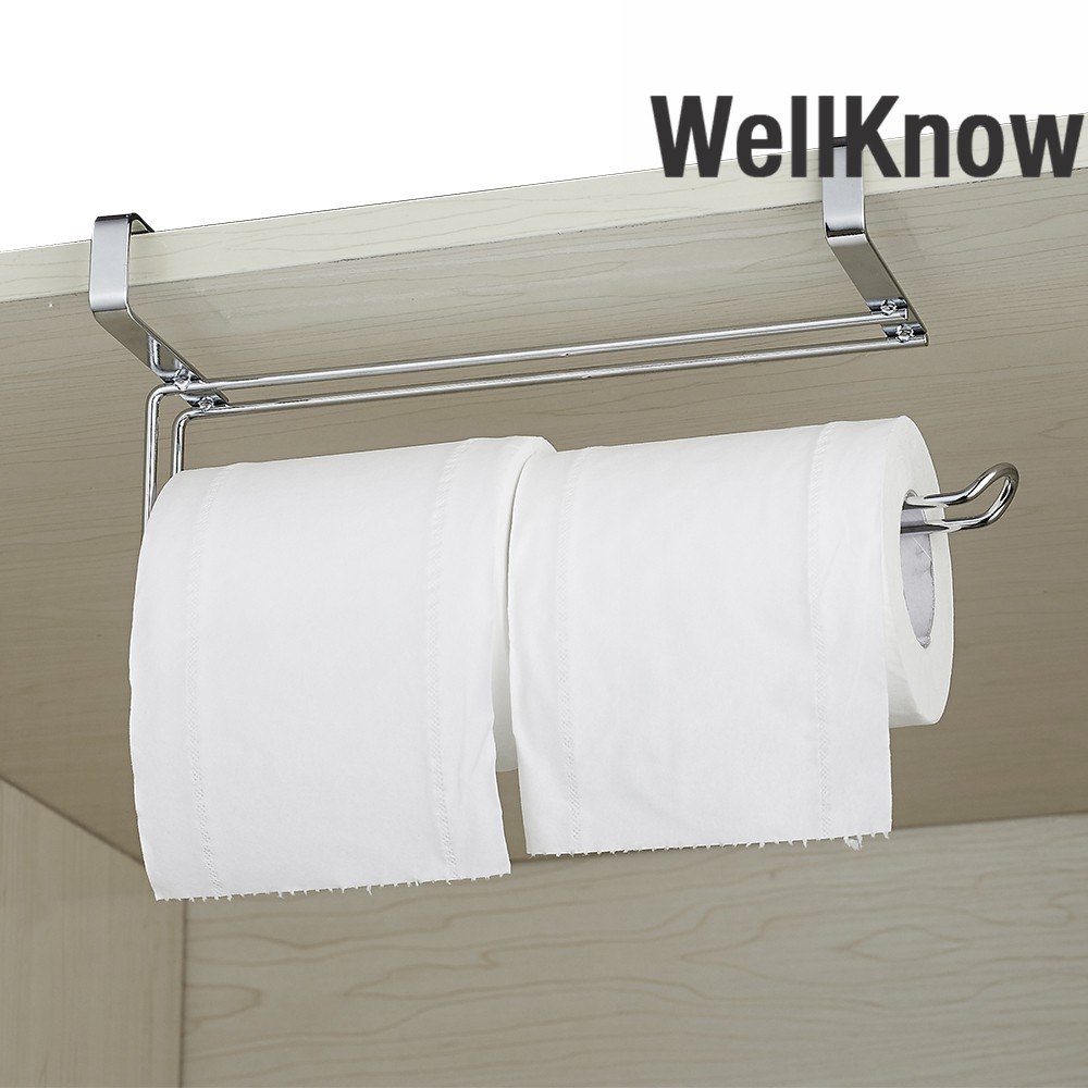 Wellknown Kitchen Roll Holder Under Cabinet Stainless Steel Toilet Paper Towel H