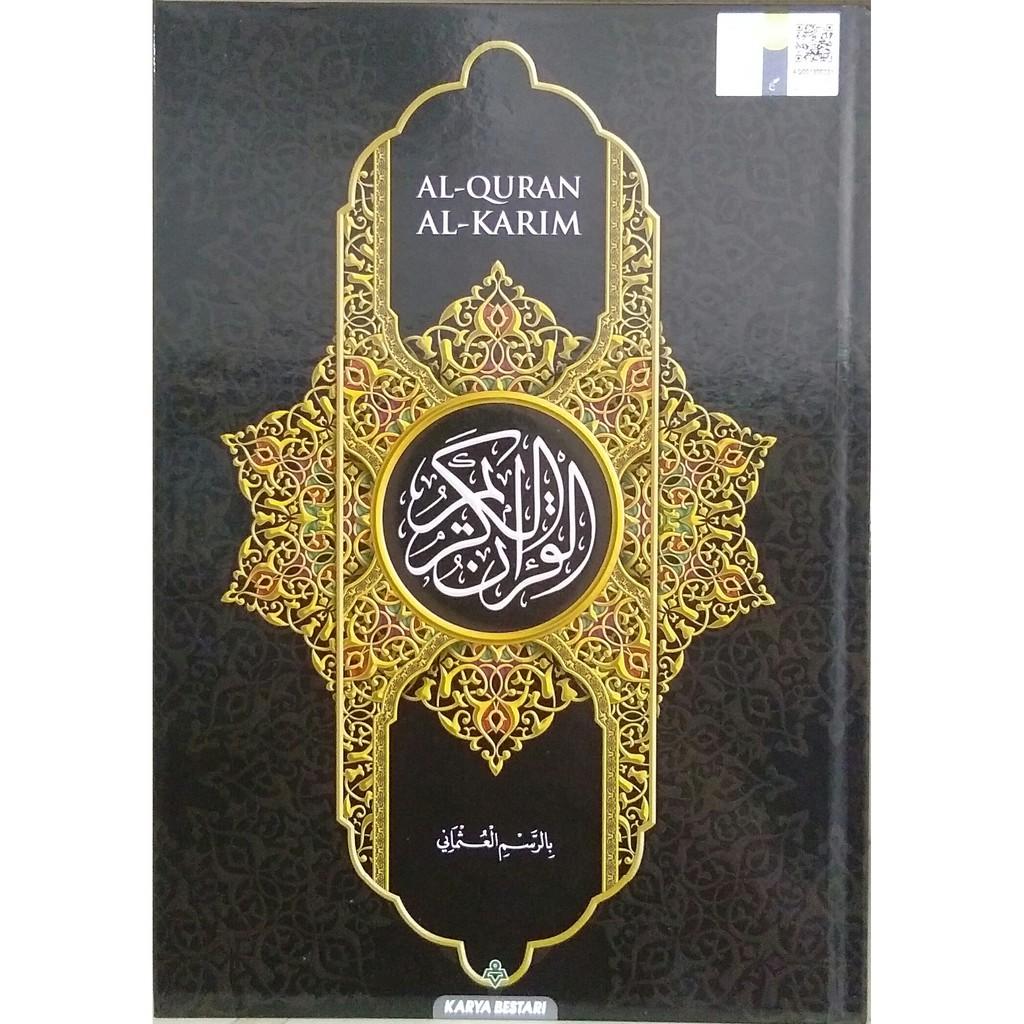 AL-QURAN AL-KARIM MUSHAF RESAM UTHMANI B5 (SIMILI) KARYA BESTARI