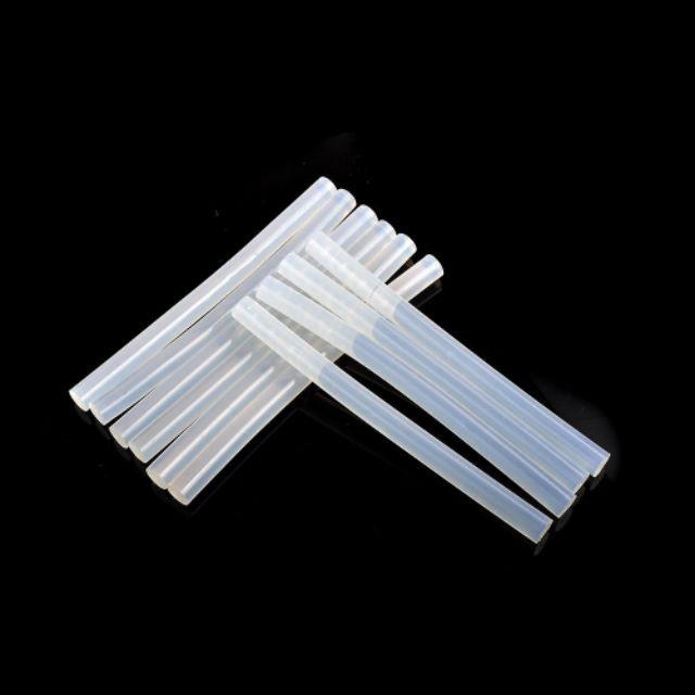 12pc Hot Melt Transparent Glue Sticks