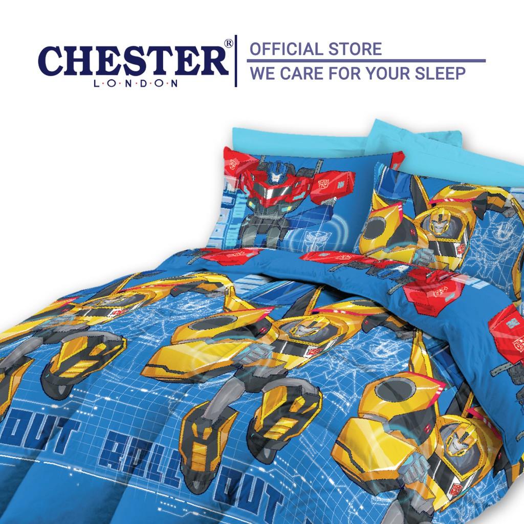 Chester London Transformers 450 Thread Count Queen Comforter Set