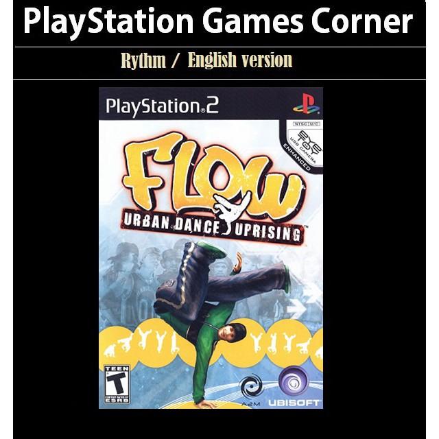 PS2 Game Flow Urban Dance Uprising, Rhythm Game, English version / PlayStation 2