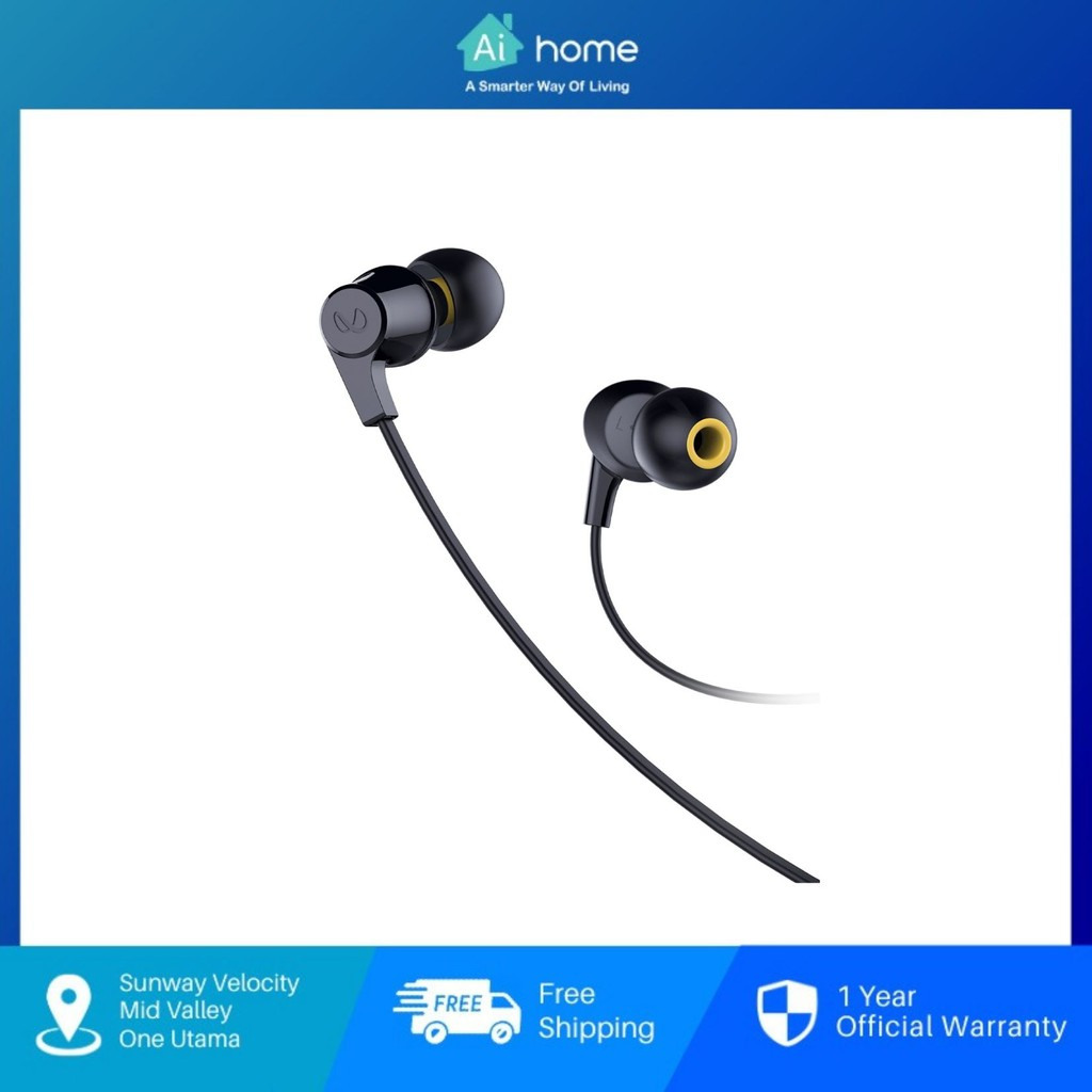 Infinity by Harman Wynd 300 Stereo In-Ear Headphone - Infinity Deep Bass Sound | Remote with Microphone [ Aihome ]