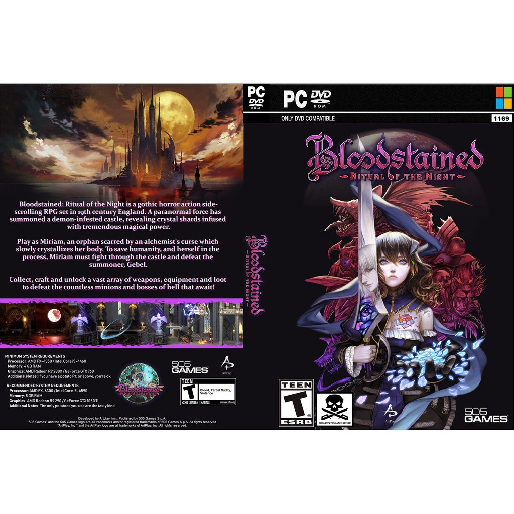 (PC) Bloodstained Ritual Of The Night