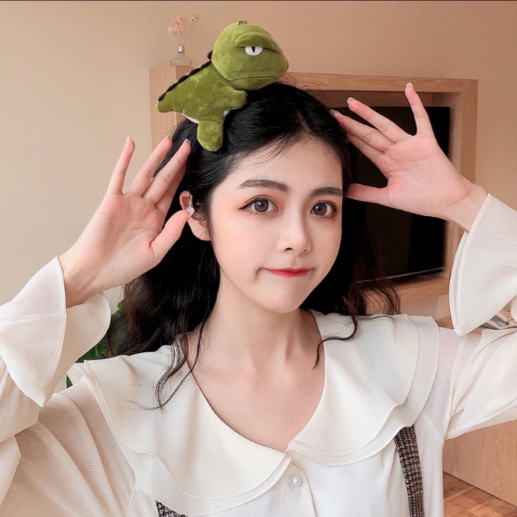[MsiaStock] Dinosaur Hair Band Cute hairband Korean Little Personality High Elastic Rubber Band