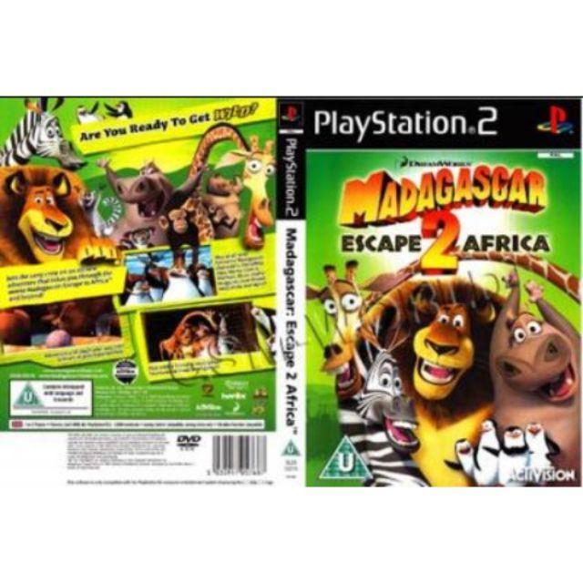 Ps2 Game Collection Madagascar Escape 2 Africa Shopee Malaysia