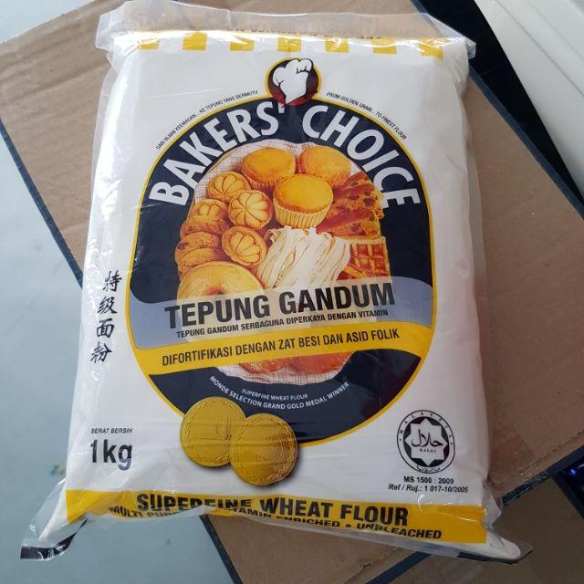 Tepung Gandum Bakers Choice Shopee Malaysia