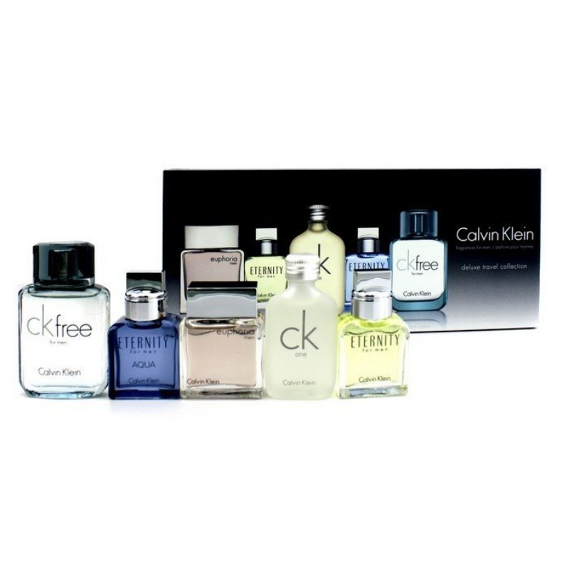 19d87f3b4a  CLEARANCE STOCK - Calvin Klein Miniature Deluxe Travel Collection for Men