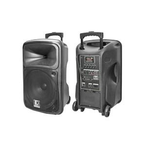 Denn SE-636REC AC/DC Portable PA Voice Record System (2 Handheld Microphones)