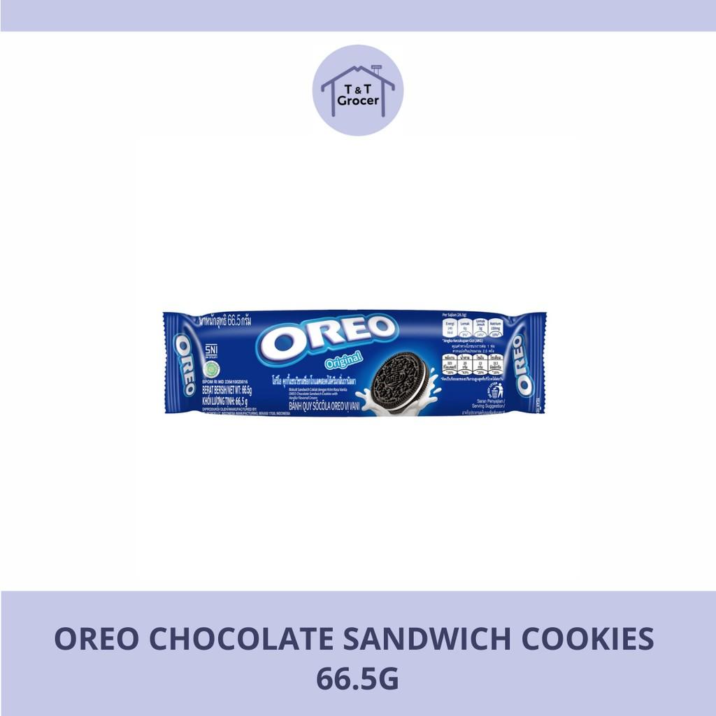 Oreo Chocolate Sandwich Cookies (66.5g)/ Oreo Sandwich Vanilla (133g)