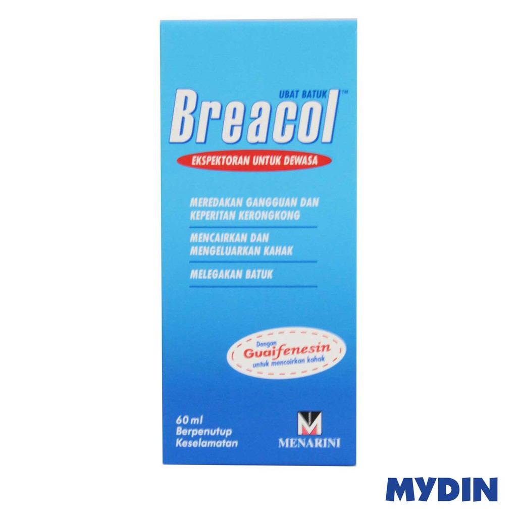 Breacol Cough Relief Adult Syrup (60ml)