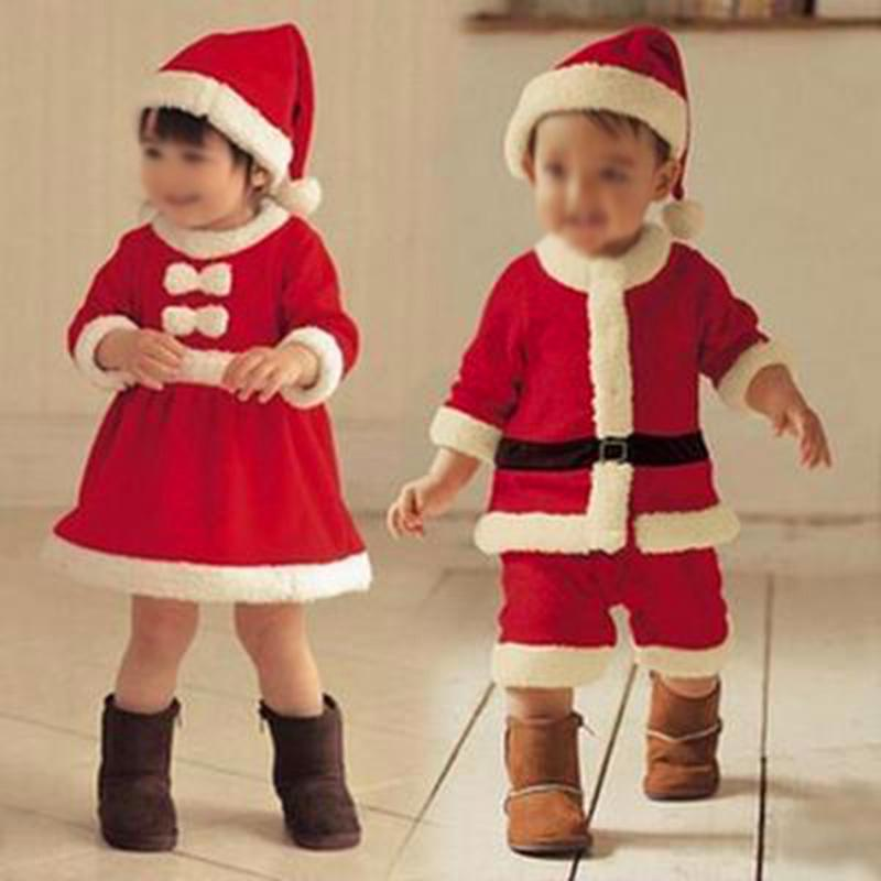 Cute Christmas Outfits.Girls Christmas Outfits Boys Cute Performance Dress Gift Clothes Romper Pants
