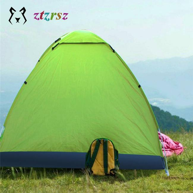 newest 90acc 644b1 Quick opening tent Outdoor 3-4 people full automatic multiplayer camping  tent set Outdoor automatic