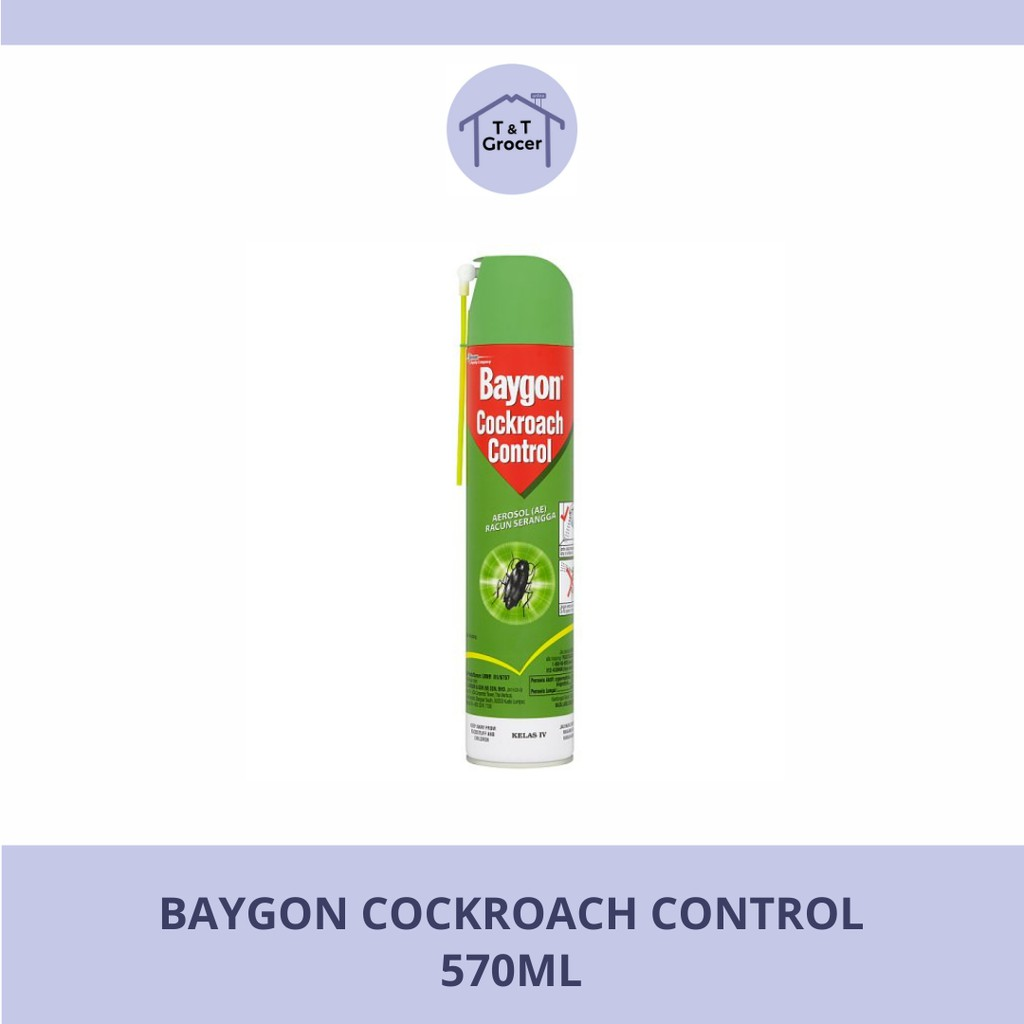 Baygon Cockroach Control 570ml
