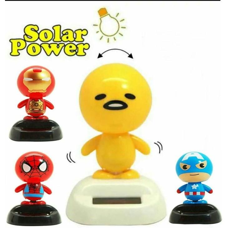MALAYSIA O] ALAT PERMAINAN SOLAR / SOLAR POWER DOLL