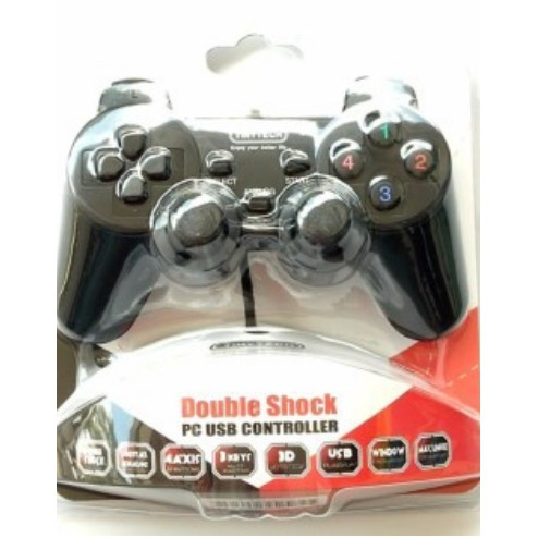 Tiny Tech Double Shock PC USB Controller Single