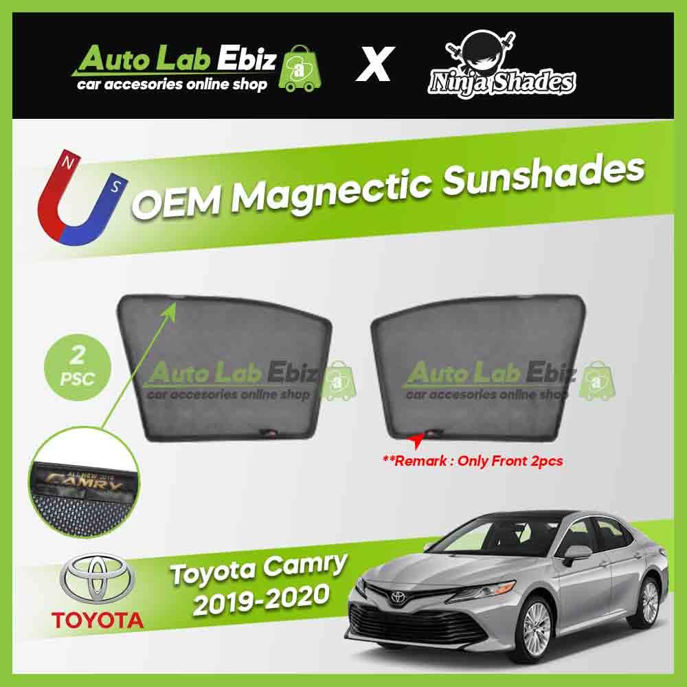 Toyota Camry XV70 2019-2020 Ninja Shades OEM Magnetic Sunshade (2pcs)