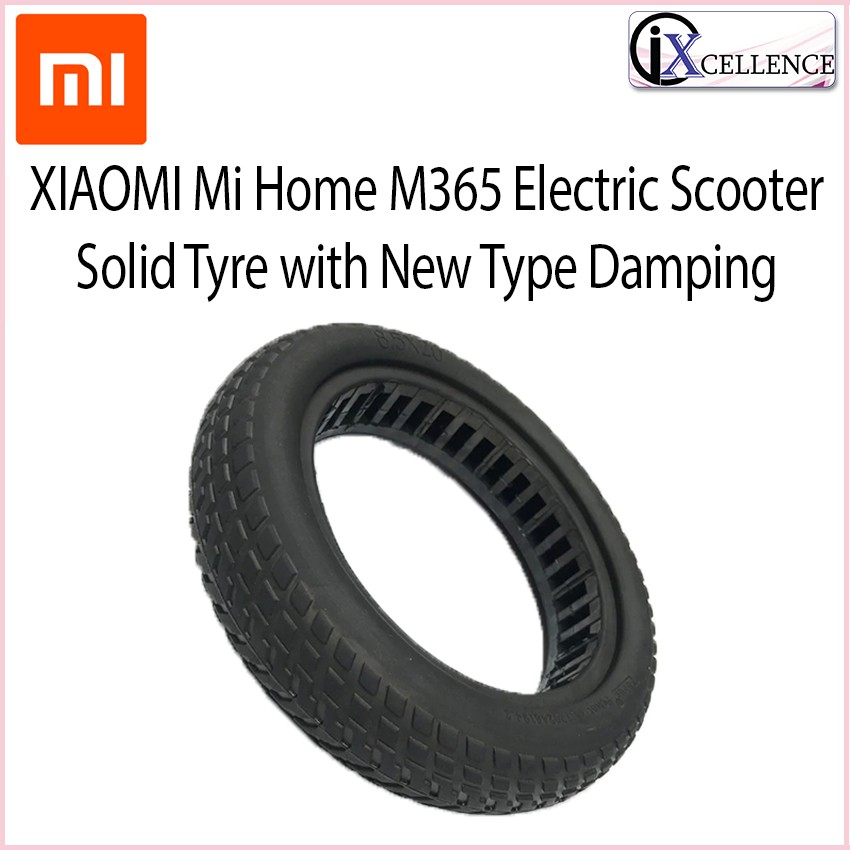 [IX] XIAOMI Mi Home M365 Electric Scooter Solid Tyre with New Type Damping