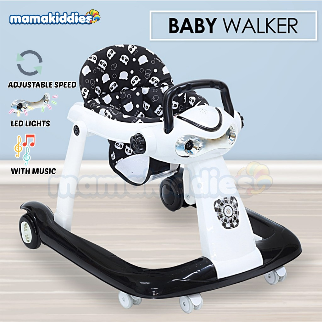 Mamakiddies Baby Walker Push Music Toddler Walk Assistance & Activity Tray  Music