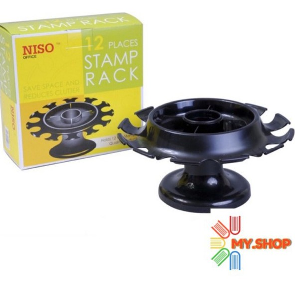 Niso 12 Places Stamp Rack