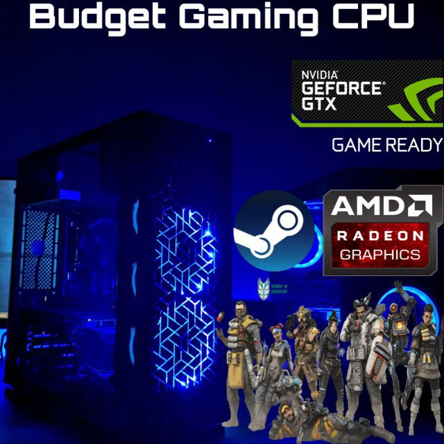 Budget Gaming PC CPU DESKTOP CSGO DOTA2 FORTNITE PUBG APEX LEGENDS