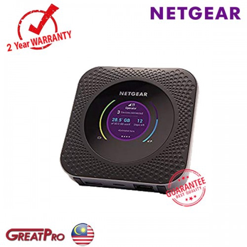 NETGEAR NIGHTHAWK M1 GIGABIT LTE MODEM ROUTER (MR1100)