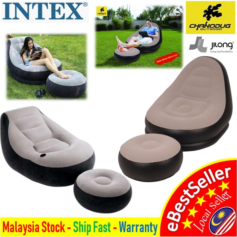 Awesome Intex 68564 Chanodug 4027 Jilong 27449 Ultra Lounge Inflatable Relaxing Air Chair Sofa Creativecarmelina Interior Chair Design Creativecarmelinacom