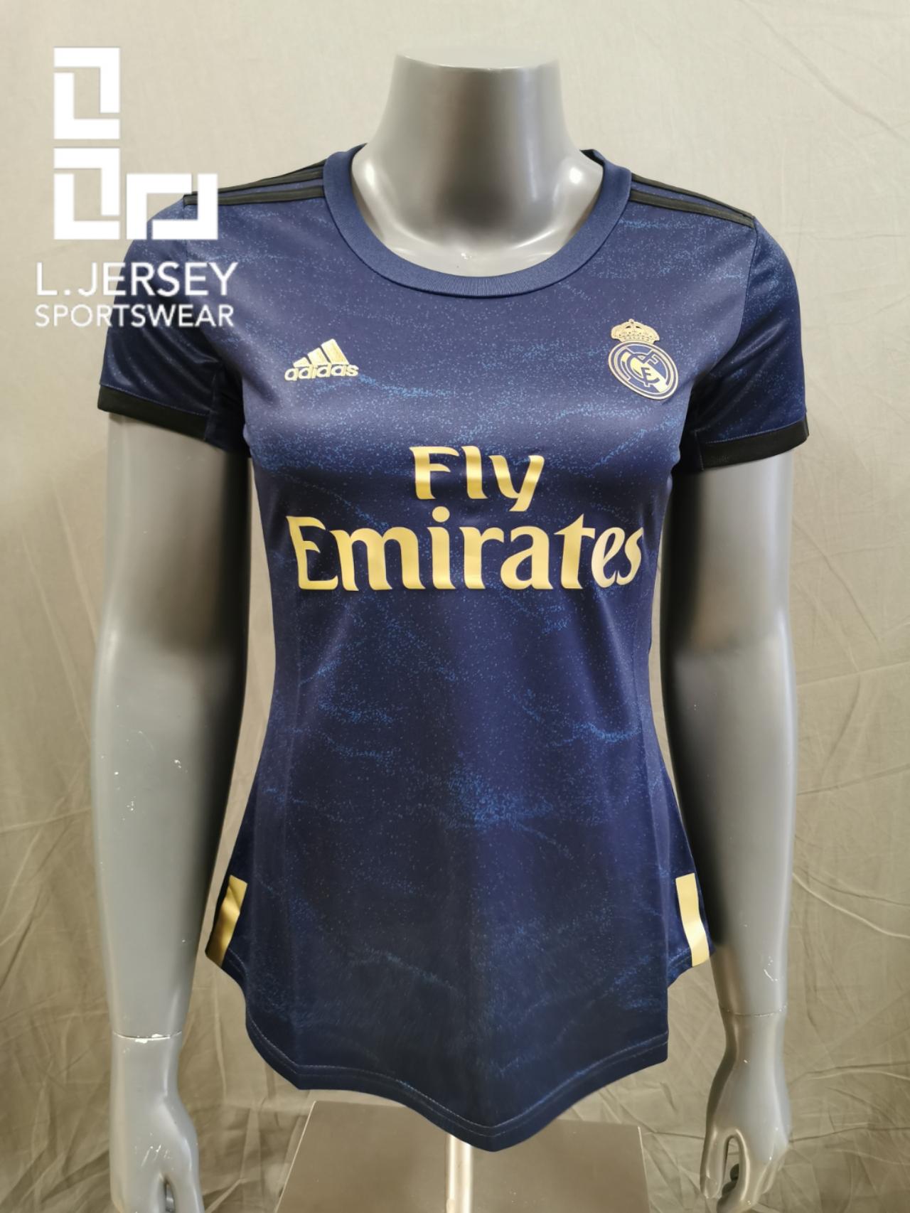 Real Madrid Women Away Season 19/20 Fans Issue Jersey
