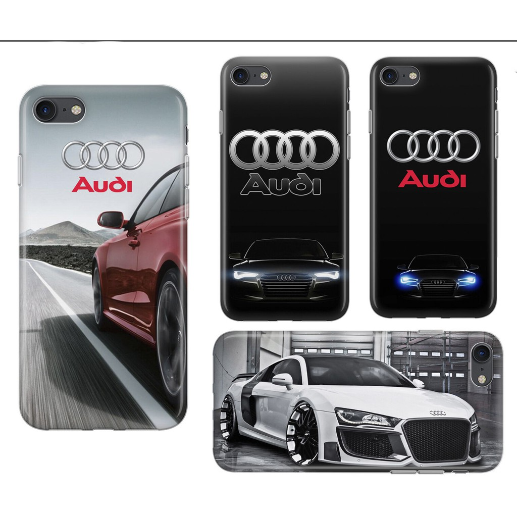 Audi R8 Rs S Line Case Cars Design Cover for Iphone 6 7 8 Plus X Xr Xs Max