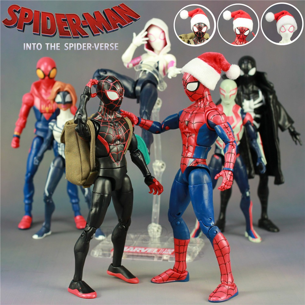 "ACTION FIGURE PETER PARKER Spider-Man Into the Spider-Verse ~ 6/"" SPIDER-MAN"