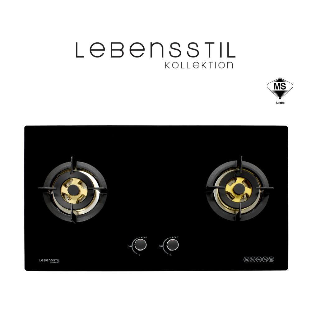 Lebensstil Built-in Gas Hob (Flexi-Fit) LKGH-8502MB