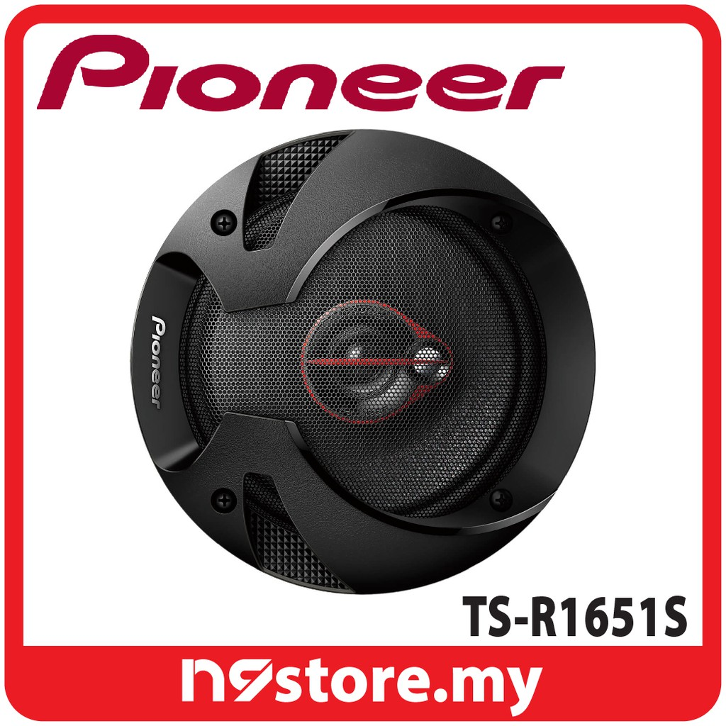 Pioneer 2 Way Coaxial 6 1 Speaker 300 Watt Max Shopee Malaysia Ts F1634r 2way