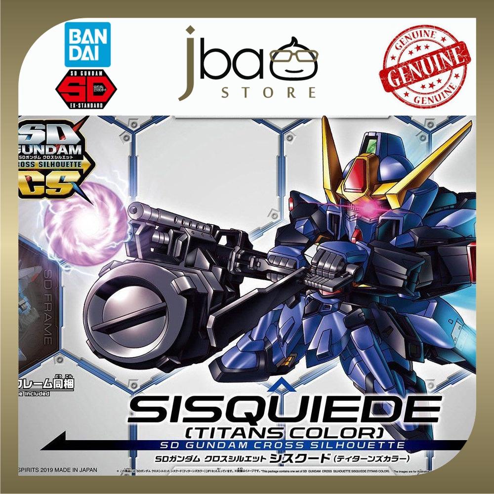 Bandai 10 SD Gundam Cross Silhouette Sisquiede Sisquied Titans Colors Mobile Suit