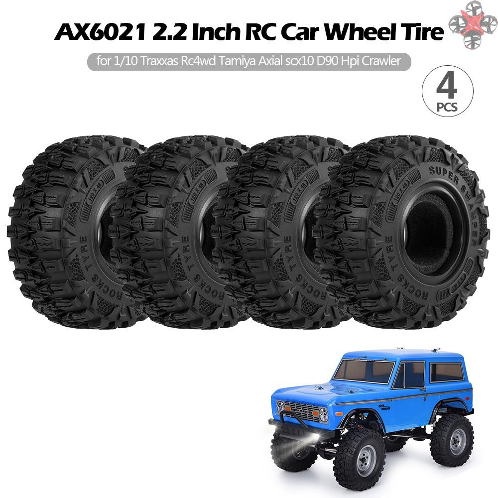 4PCS 1.9 Inch 120mm Tyre for 1//10 HSP Redcat Traxxas Axial SCX10 RC4WD D90 CC01