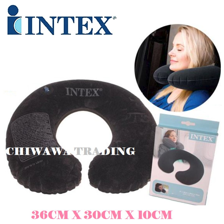 PROMOTION 68675  Inflatable U Shaped Neck Pillow Sleep Nap A...