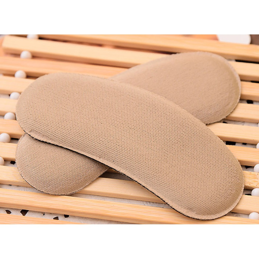 5Pair Strong Sticky Fabric Shoe Heel Protector Pads Cushion Pad Grips Footcare