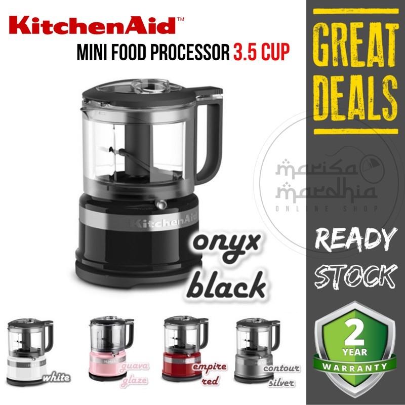 Kitchenaid 3 5 Cup Food Chopper 5kfc3516bcu 830ml Mini Processor Pro Bpa Free Plastic Chop Mix Puree Shopee Malaysia