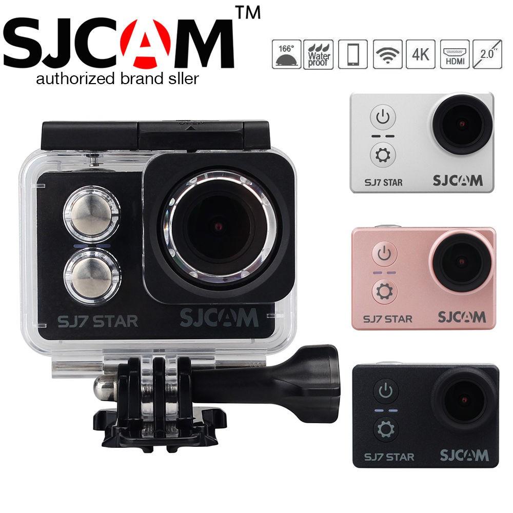 SJCAM Original SJ7 STAR Touch Screen 4K Wifi Action Camera Sports Video  Camera