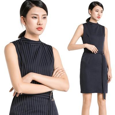 af2942c77692 ProductImage. ProductImage. Office Lady Striped Formal Bodycon Midi Dress  Elegant Women Work Pencil Dresses