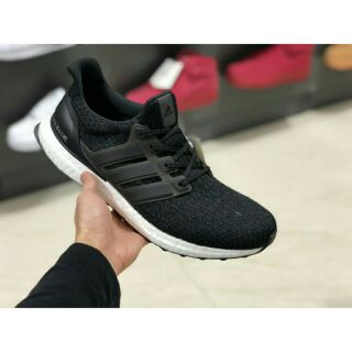 best service d2e9a c827f Adidas Ultra Boost 4.0 Black White Men and Women Sneakers