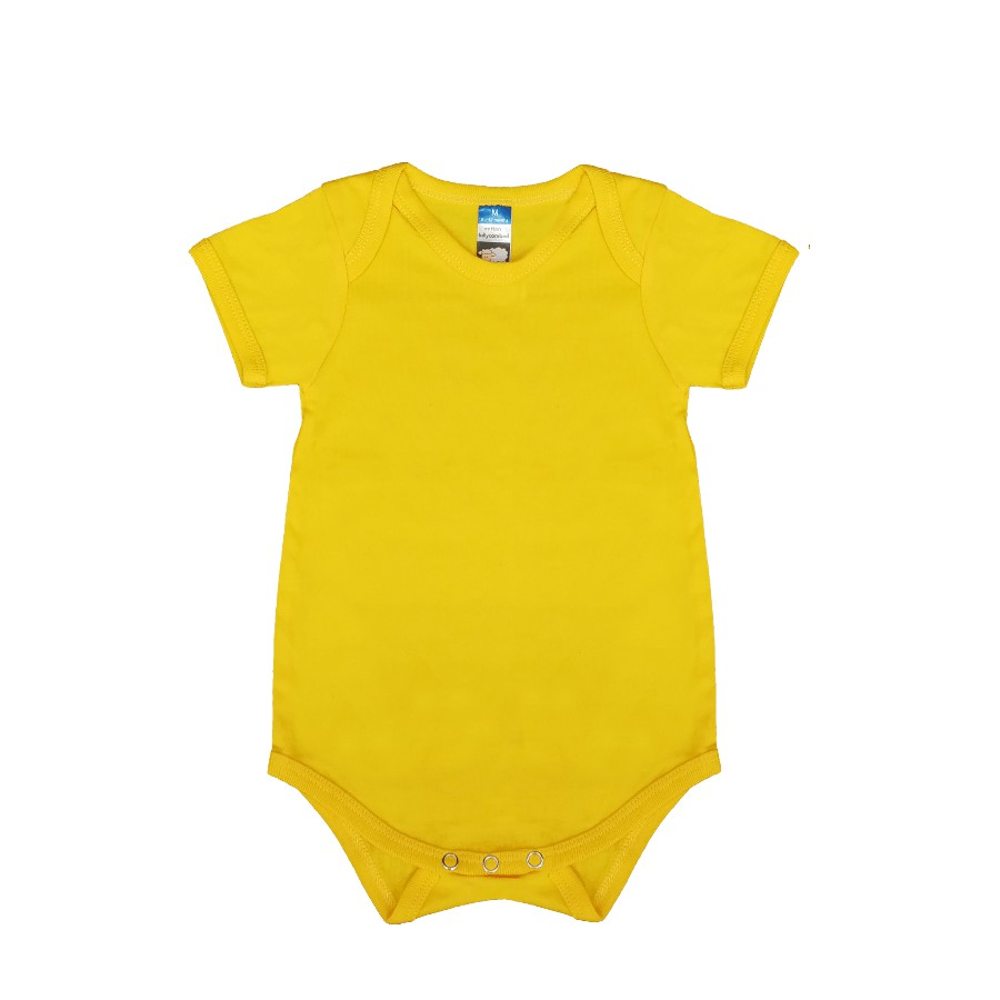 a9bf2bd44e2  READY STOCK  Basic Rompers Fullycombed for baby from New Born to XL Red