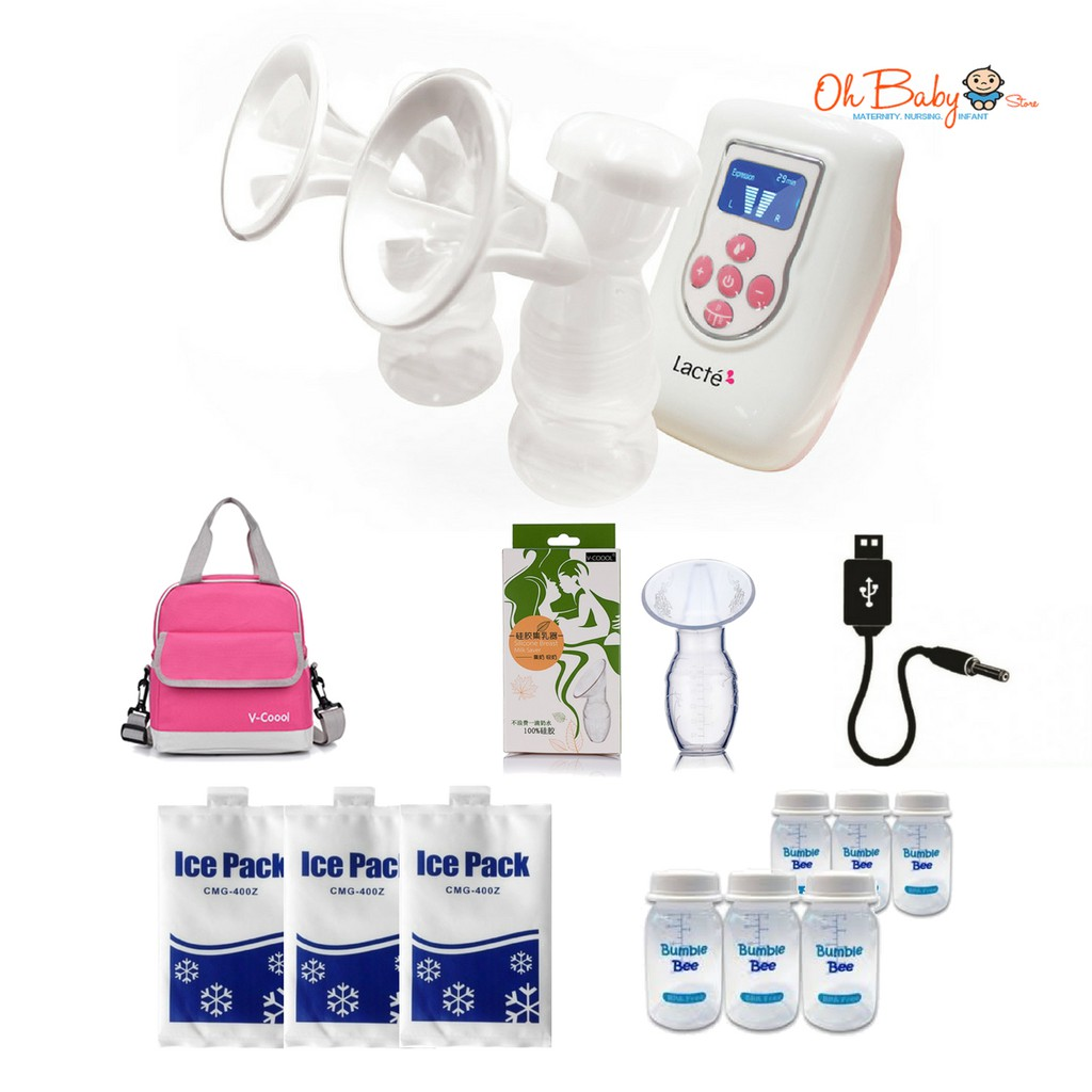 Unimom Allegro Rechargeable Electric Breastpump Shopee Malaysia Breast Pump