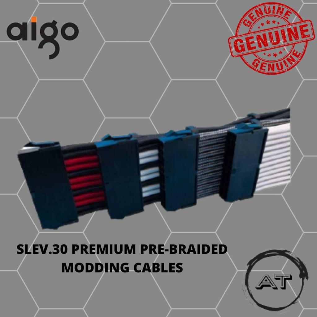 SLEV.30 PREMIUM PRE-BRAIDED MODDING CABLES