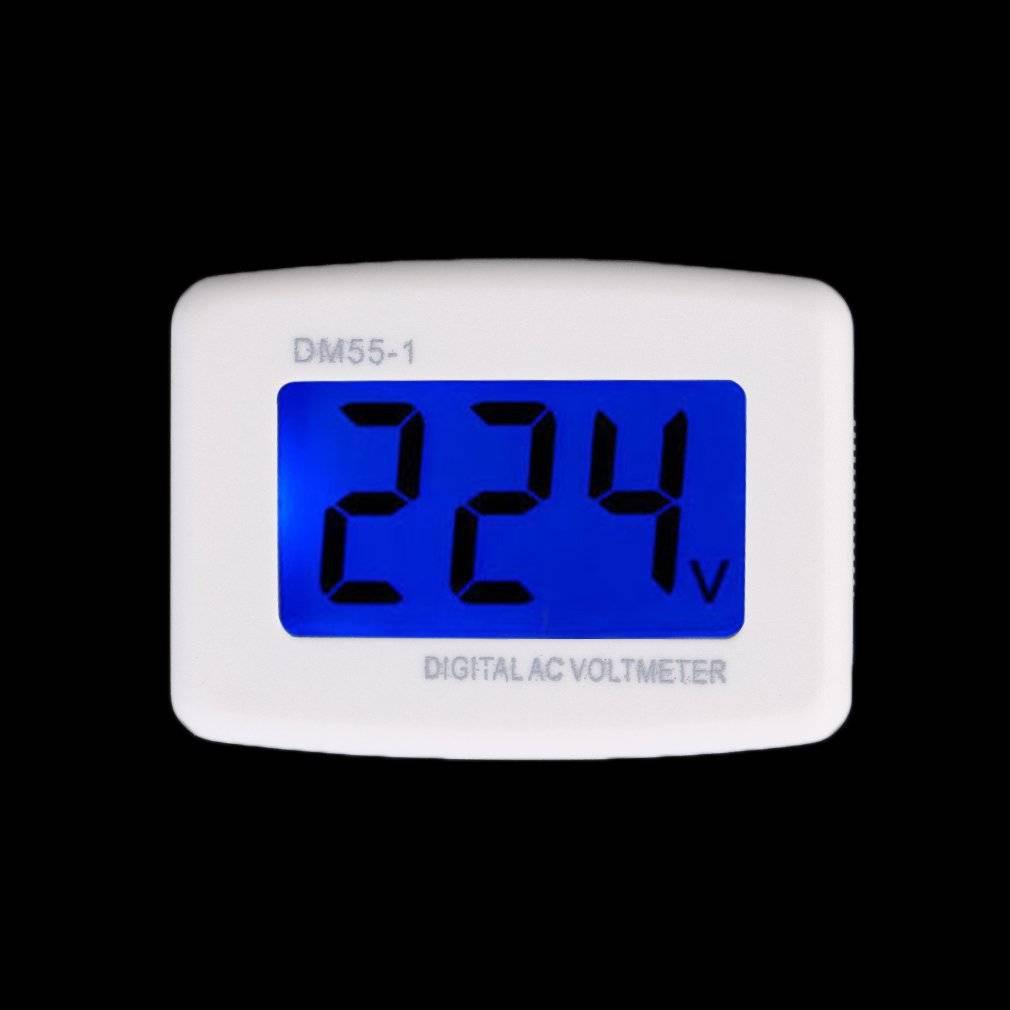 Temperature Instruments 2 Wire 0.56 Ac 30v-500v Led Digital Voltmeter Voltage Meter Monitor Tester For 110v 220v 380v Comfortable And Easy To Wear