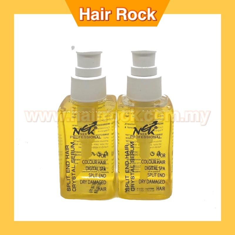 NEK Hair Serum Split End Crystal Hair oil for Dry & Damaged Hair 100ml (SS11)