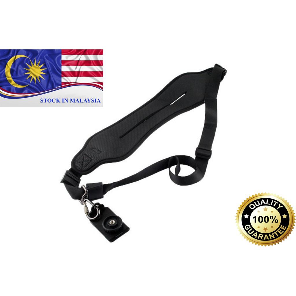 New Caden Quick Neck Shoulder Strap for Nikon Canon Sony DSLR (Black) (Ready Stock In Malaysia)