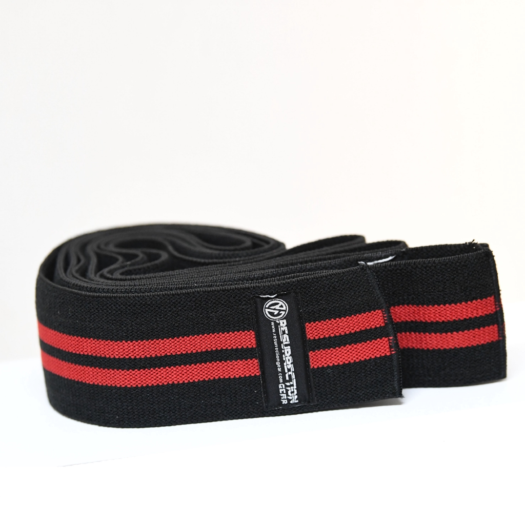 Knee Wrap Powerlifting Weighlifting Squat Gym Fitness Accessories Pembalut Lutut Angkat Berat Squat Aksesori Peralatan