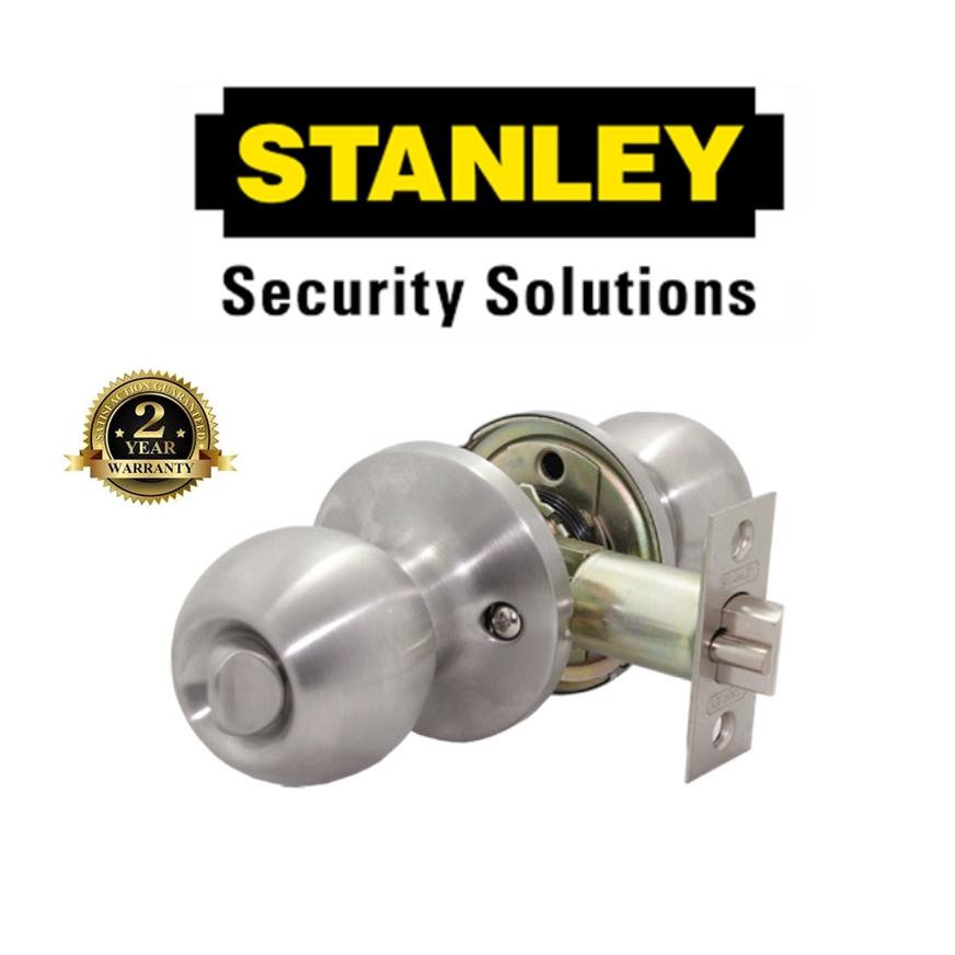 STANLEY PREMIUM SERIES TUBULAR LOCK SET S835884 STAINLESS STEEL